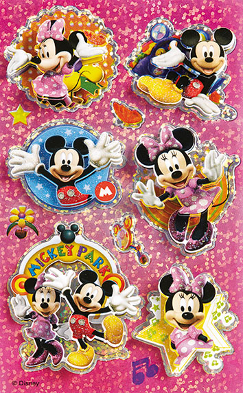 BSB Comic-Sticker / Mickey Mouse ClubHouse